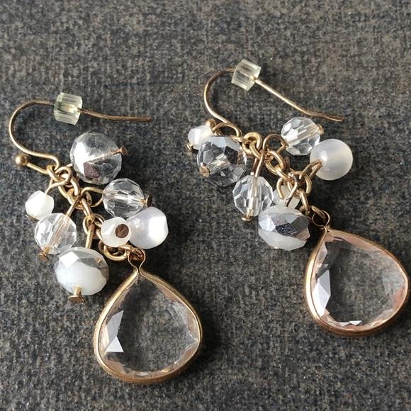 Crystal Dangle Earrings 🌸2/$10